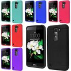 For LG Tribute 5/ K7 Black Matte Rubber TPU Soft Case Cover Accessory