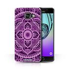 STUFF4 Phone Case/Back Cover for Samsung Galaxy A3 (2016) /Mandala Art
