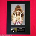FLORENCE AND THE MACHINE Mounted Signed Photo Reproduction Autograph PrintA4 249
