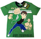 BEN 10 ALIEN FORCE Boys cotton summer t-shirt Size S-XL Age 3-9 yrs Free Ship