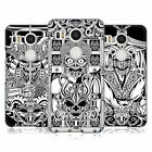 HEAD CASE DESIGNS JAPANESE DEVIL MASK BLACK AND WHITE BACK CASE FOR LG NEXUS 5X
