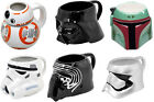 Star Wars: Shaped Ceramic Mug - New Official In Box Darth / Kylo / Phasma / BB-8