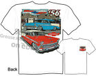 56 Nomad Chevy T Shirts 1956 Chevrolet Apparel Automotive Shirts Classic Car