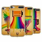 HEAD CASE DESIGNS COLOUR DRIPS SOFT GEL CASE FOR APPLE iPOD TOUCH 6G