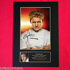 GORDON RAMSEY Mounted Signed Photo Reproduction Autograph Print A4 14