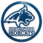 MONTANA STATE BOBCATS Steel Scenic Art Wall Design