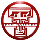 TEXAS TECH RED RAIDERS Steel Scenic Art Wall Design