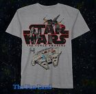 New Star Wars Millennium Falcon The Force Awakens T-Shirt $24.11 CAD