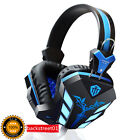Stereo Headband PC Laptop Gaming Headset LED Luminous Headphones With Mic 3.5mm