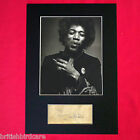 JIMI HENDRIX Autograph Mounted Photo REPRO QUALITY PRINT A4 59