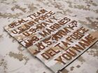 Digital Desert Chest Tapes Custom name Tapes ARMY NAVY Embroidery Patch