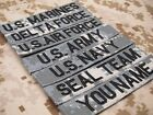 ACU Chest Tapes Custom name Tapes ARMY SEAL NAVY AIR Embroidery Patch