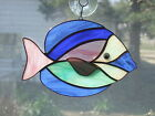 Handmade Stained Glass Tropical FISH SUNCATCHER (FH38)