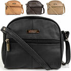 Ladies / Womens Small Handy Leather Cross Body / Shoulder Bag
