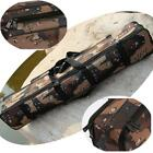 Hot Camouflage Fishing Rod Case Bag Organizer Tackle Tool Two-Layer Storage - CB