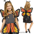 CK624 Monarch Girls Butterfly Fairy Princess Wings Party Fancy Dress Up Costume
