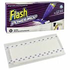 Flash Power Mop 12 Refill Cleaning Pads Replacement Disposable Absorbent Cloths