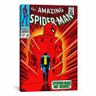 iCanvas Marvel Comics Book Spider-Man Issue Cover #50 Graphic Art on Canvas