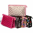 Fashion Pencil Case Cosmetic Makeup Coin Pouch Zipper Bag Purse Vintage Travel