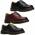 Mens Womens Dr Martens 1461 Classic 3 Eyelet Lace Up Leather Shoes Sizes 3 to 12