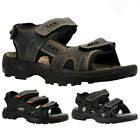 NEW MENS LEATHER LINED WALKING SUMMER HOLIDAY BEACH MULES SANDALS SHOES
