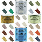 Rust-Oleum Chalky Chalk Furniture Paint Matt Finishing Wax Lacquer 125ml-750ml