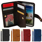 Samsung Galaxy S7 G930 Gavialis Two-Side wallet Phone case With Strap FREE FILM
