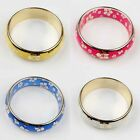 New Charming Fashion Women Silver Plated Chic Plum Pattern Bangles & Bracelet