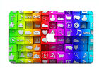 Laptop Accessories Painted Hard Case Keyboard Cover For Macbook Air Pro Cut-out