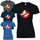 Ghostbusters Ladies Fitted T-Shirt Retro Vintage 80s Movie Tribute Fan Inspired