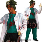 CL847 Demented Lab Surgeon Doctor Zombie Mens Horror Hospital Halloween Costume