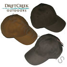 1-DRIFT CREEK OUTDOORS HEADWEAR-HAT RANGER-100% COTTON WAX FABRIC TO REPEL WATER