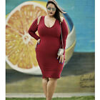 Plus Size new Womens Bodycon Bandage Evening Club Party Maxi Long Casual Dress