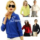 Women Casual Dress Chiffon Shirt Blouse Tops Elegant OL Turn Down Solid 5 Colors