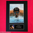 MICHAEL PHELPS Mounted Signed Photo Reproduction Autograph Print A4 264