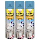 Bed Bug Killer Spray Mattress Treatment Household Pest Control Zero In 1-12 Cans