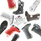 Women Comfort Round Toe Mid Calf Flat Ankle High Eskimo Winter Fur Snow Boots