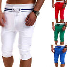 Fashion Mens Cotton Shorts Pants Casual Summer Trousers Sport Jogging Trousers