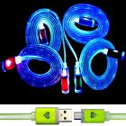 Visible LED Light Micro USB Charging Data Sync Cable for Android cell Phone b342