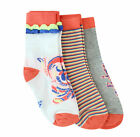 Adidas Sport LG Rock IT 3 Pack Girls Kids Socks F49822 UW