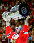 Brent Seabrook Chicago Blackhawks 2015 Stanley Cup Trophy Photo (Select Size)