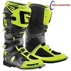 NEW 2016 GAERNE SG12 MOTOCROSS BOOTS GREY BLACK NEON YELLOW ALL SIZES