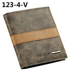 Men Faux Leather Wallet ID Credit Card Holder Money Clutch Pocket Great Gift