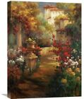 Global Gallery 'Manera Casa' by Axiano Original Painting on Wrapped Canvas