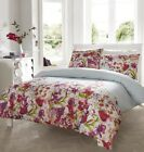 Meadow Duvet Quilt Cover Set With Pillowcases, Single Double King Size Bedding