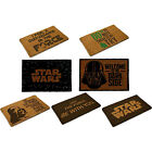 Star Wars Door Mat / Doormat Hard Wearing Fibre Non Slip Base - New & Official