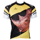 Men Cycling Jersey Short Sleeve Breathable Sports Wear Bike Bicycle Shorts Suit