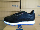 MENS REEBOK CLASSIC LEATHER ICE BLACK-WHITE-STEEL-ICE  AR3782