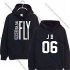 Kpop GOT7 Fly Cap Hoodie Sweater Unisex TURBULENCE Sweatershirt Pullover Coat