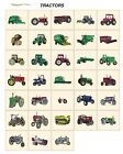 TRACTORS. CARD machine embroidery designs jef files for janome 300e farming